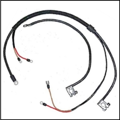battery cable set for 1964