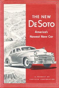 Original Sales Brochure for 1946 DeSoto