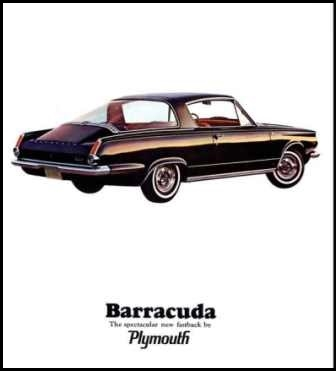 Sales Brochure for 1964 Plymouth Barracuda