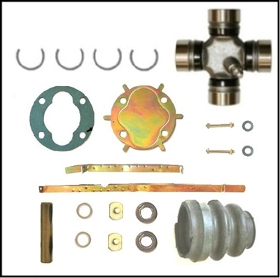 Quot Detroit Quot Style Ball Amp Trunion Repair Kit For The Front